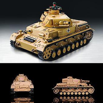 Heng Long RC Panzer 1:16 Kampfwagen IV Ausf-F-1, Rauch, Sound, Schussfunktion