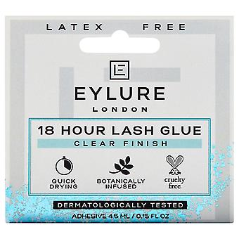 Eylure 18 Hour False Lash Glue - Clear Finish - 4.5ml Quick Drying & Latex Free