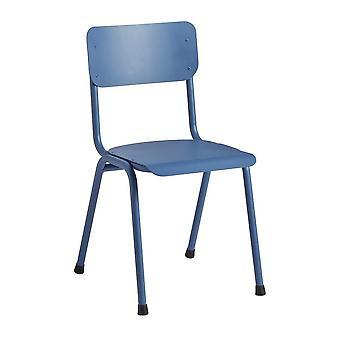 Quinine Sidechair - Aluminium - Blue Ral 5023