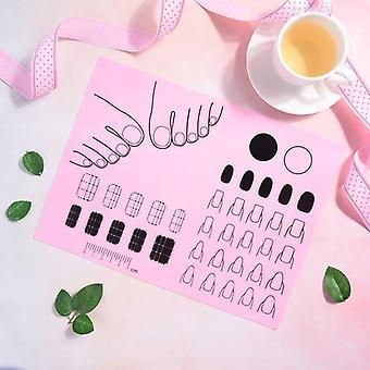 Cojín de mano almohadilla pegatina arte arte manicure uñas esteras