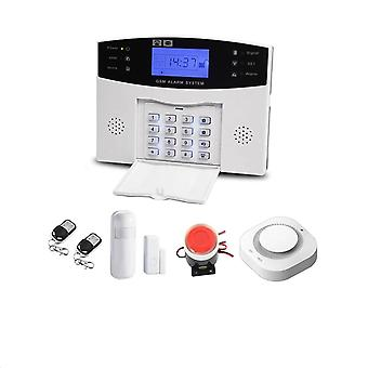 Wired Wireless Gsm Security Alarm System With Automation Intercom