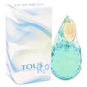 Tous H20 Eau De Toilette Spray Przez Tous 1.7 uncji Eau De Toilette Spray