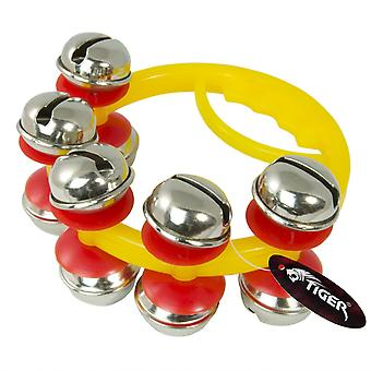 Tiger jingle bells - mini sleigh bells