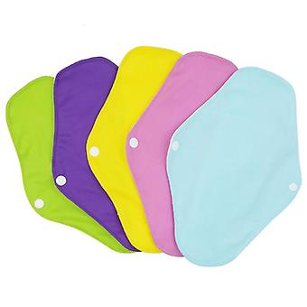 Women Liner Cloth Menstrual Bamboo Cotton Sanitary Reusable Washable Day Pads
