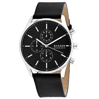 Skagen Men's Reloj de marcación holst negro - SKW6677