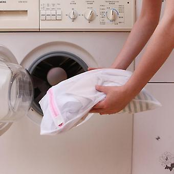 Polyesteri verkko pyykinpesukoneen pesupussi