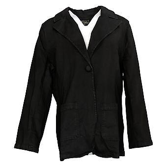 DG2 par Diane Gilman Women's Suit Jacket/Blazer FLEXstretch Black 716081