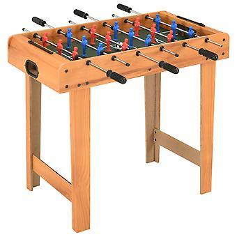 Mini Tischfußball 69x37x62 Cm Ahorn