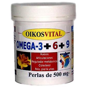 Oikos Omega 3+6+9 90Perlas
