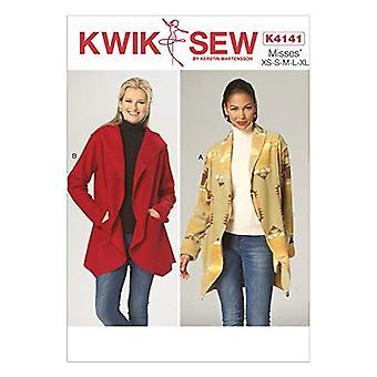 Kwik Sew Sewing Patterns 4141 Misses Jackets Size XS-XL