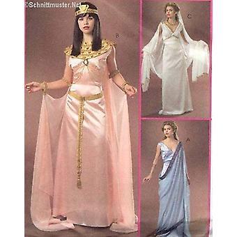 McCalls Naaipatroon 4954 Mist Egyptisch Grieks Cleopatra Maat 14-20