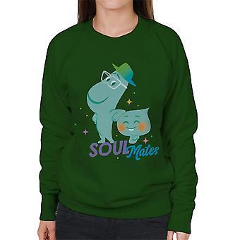 Pixar Soul 22 And Joe Gardner Soul Mates Women's Sweatshirt