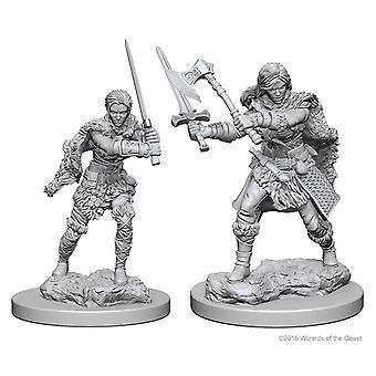 Dungeons & Dragons Nolzur's Marvelous Omålade Miniatyrer Mänskliga Kvinnliga Barbaren