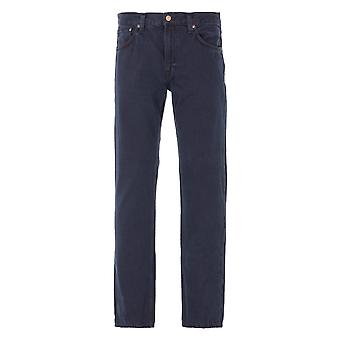 Nudie Jeans Co Gritty Jackson Regular Fit Jeans - Black Forest