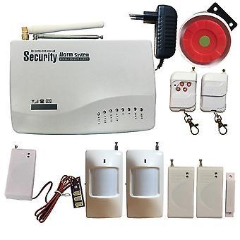 Intercom Wireless Home Security Gsm Sms Alarm System