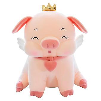 35 Cm Cute Pig Doll  PillowSuper Soft Christmas Gift |Plush Pillows(pink)