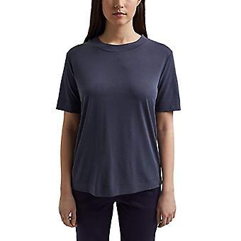 ESPRIT 021EE1K374 T-Shirt, 400/Navy, M Vrouw