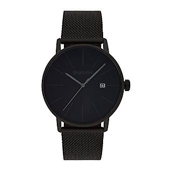 Gigandet Men's Watch Quartz Minimalism Analog Bracelet Milanese Black Steel G42-007