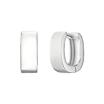 NOELANI Silver Hoop Earrings 925(3)