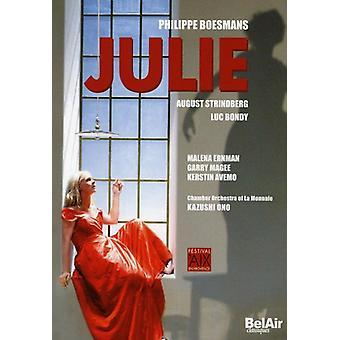 P. Boesmans - Philippe Boesmans: Julie [DVD Video] [DVD] USA import