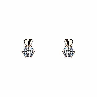 Sirius - Coeur &Étincelle - Clou - Icônes Boucles d'oreilles - Argent - Bijoux cadeaux pour femmes de Lu Bella