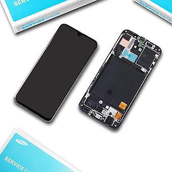 LCD Display Bildschirm + Digitizer schwarz Schwarz passend für Samsung Galaxy A40 (2019) SM-A405F