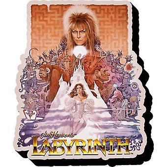 Labyrinth One Sheet Magnet