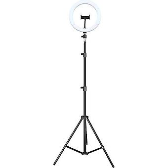 Selfie Ring Light iggual IGG317242 Ø 25 cm Stativ