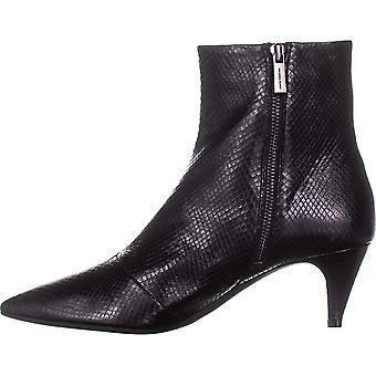 مايكل مايكل كورس المرأة بلين فليكس هريرة Bootie الجلود وأشار إصبع القدم الكاحل أحذية الأزياء
