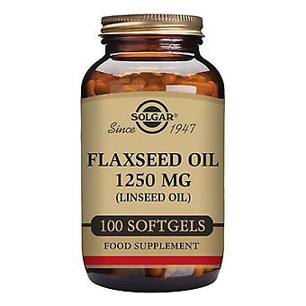 Linseed Oil Solgar 1250 mg (100 Capsules)