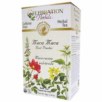 Celebration Herbals Organic Maca Maca Root Powder Tea, 40 grams