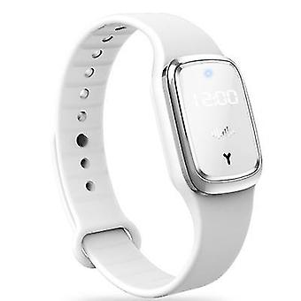 Mosquito Ultrasonic Repellent Bracelet Pest Control Anti Insect watch(White)