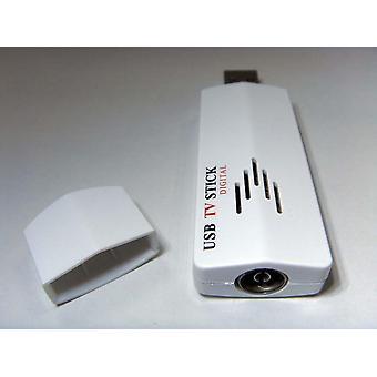 Usb Tv Stick Tuner Alıcı Adaptörü, Pc için Fm Radyo ile Dünya Çapında Analog,