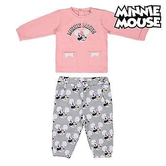 Kinder trainingspak Minnie Mouse 74636 Roze