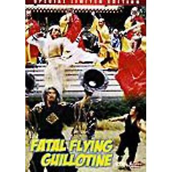 Fatal Flying Guillotine 1977 Película Dvd -Vd7487A