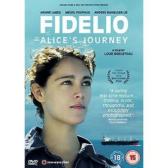 Fidelio Alices Journey DVD (2016) Ariane Labed Borleteau (DIR) cert 15 Regio 2