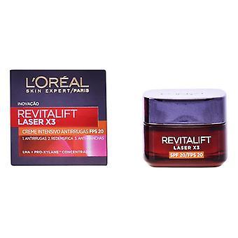 Crema antienvejecimiento Revitalift Láser L'Oreal Maquillaje