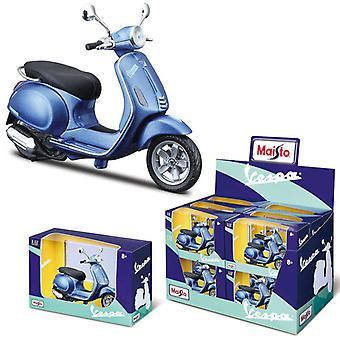 1:12 Vespa Scooter Primavera 150 (2014) Motorcykel Diecast Modell (1 Slumpmässigt)