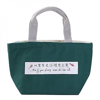 Thickened Aluminum Foil Insulation Bag Lunch Box Bag Large Canvas Tote Bag Large Capacity Lunch Box Bag