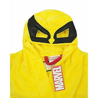 Wolverine Mens Hooded Dressing Gown