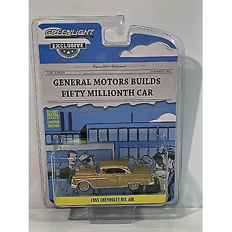 1955 Chevrolet Bel Air Cinquante Millionième Voiture 1:64 Échelle Greenlight 30231