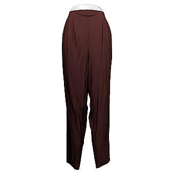 WynneLayers av MarlaWynne Women's Plus Bukser Stretch Slouch Purple 669600