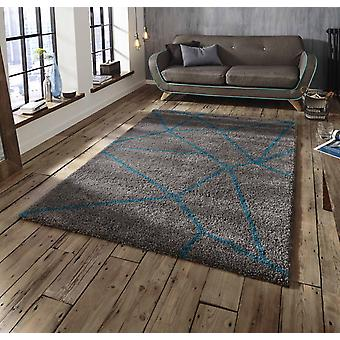 Royal Nomadic 5746 Grey Blue  Rectangle Rugs Plain/Nearly Plain Rugs