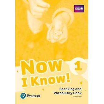 Now I Know 1 Speaking and� Vocabulary Book (Now I Know)