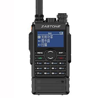 Mensagens instantâneas M7 Hand Radio Dois segmentos UHFVHF De alta potência Interfone de tela grande