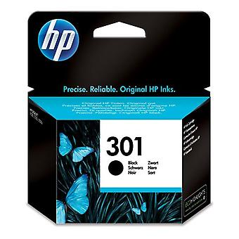 HP 301 fekete tintapatron, eredeti, standard hozamú, színalapú tinta, 3