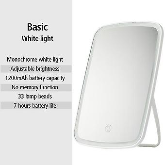 Led makeup mirror usb ricaricabile touch dimmer switch portatile cosmetico specchio toeletta vanity
