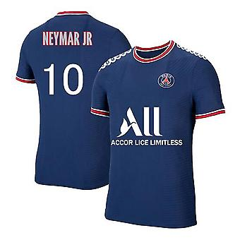Hot Sale Mens #10 Neymar Jr 2021-2022 New Season Psg Football Jersey Adult Soccer T-shirts Ligue Patch S-xxl