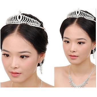 Crown Tiara Rhinestone Dress, Prom Headband, Accessories Hair Comb Crown