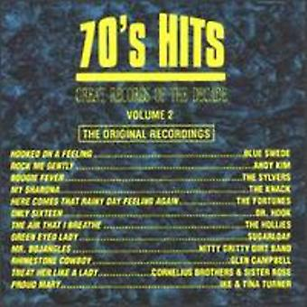 Great Records of the Decade - Great Records of the Decade: Vol. 2-70's Hits [CD] USA import